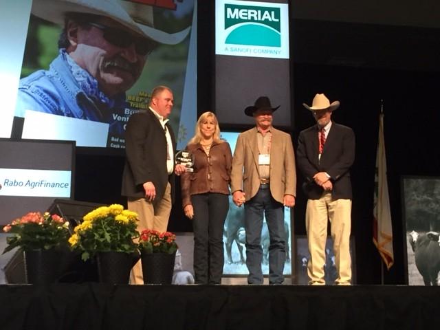 Dr. Aubrey E. Sloan – 2015 BEEF Magazine Trailblazer Award